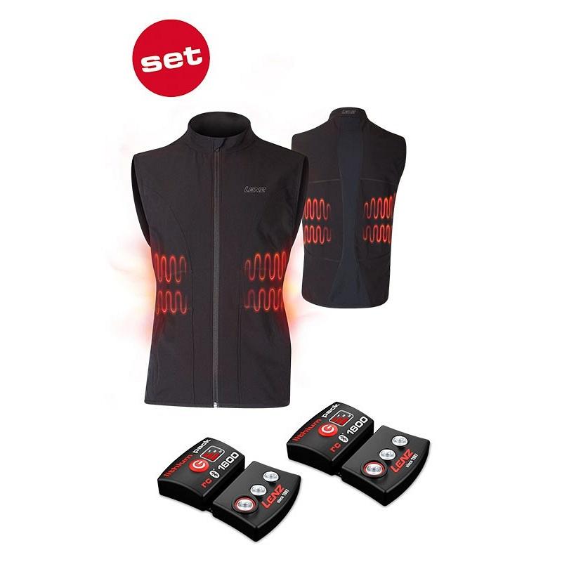 Lenz Heat Vest 1.0 + lithium akkumulátor 1800 fűthető férfi mellény ... baa70473bd
